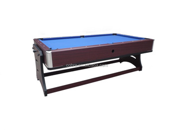 Multiplay Turning In Pool Table With Air Hockey Table For Sale - Rolling pool table
