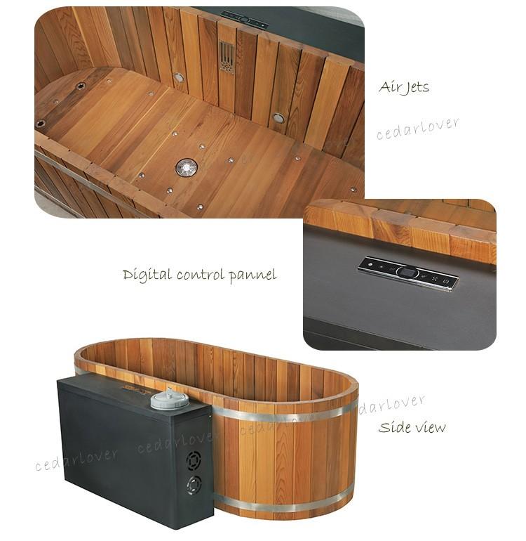 una persona spa jacuzzi pequeo barril del bao de madera fabricantes