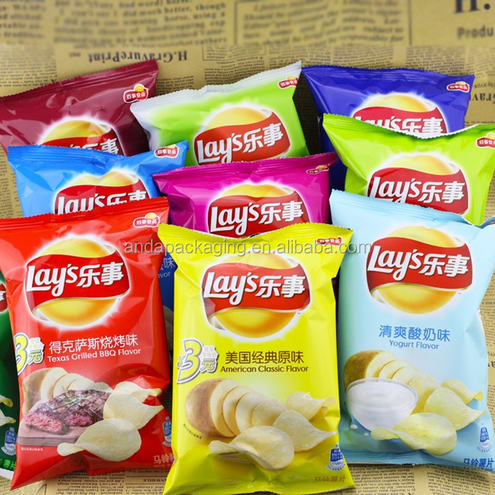 Potato Chips Packaging Material/chips Packaging Bags/packaging Of Lays  Potato Chips - Buy Packaging Of Lays Potato Chips,Chips Packaging  Bags,Potato