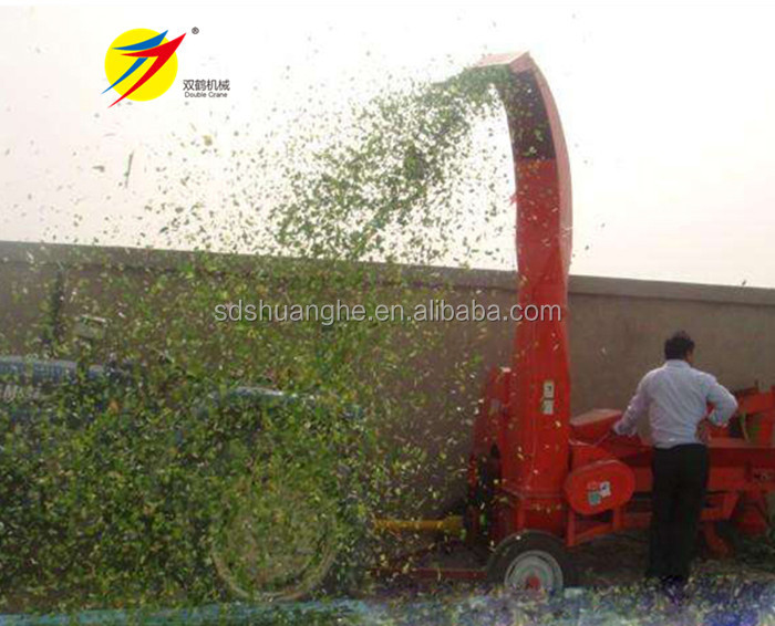 Electric corn silage straw chaff cutter for sale