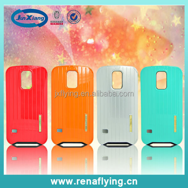 plastic travel suitcase luggage phone case for Samsung galaxy S5