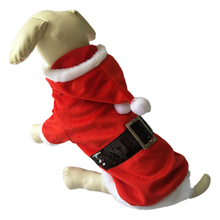 Cina All'ingrosso Pet Product Babbo <span class=keywords><strong>natale</strong></span> Babbo <span class=keywords><strong>Natale</strong></span> Vestiti Del Cane
