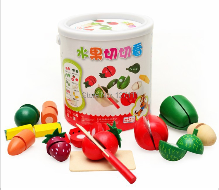 New brinquedos meninas kitchen toys set classic toys kitchen accessories fruit and vegetables