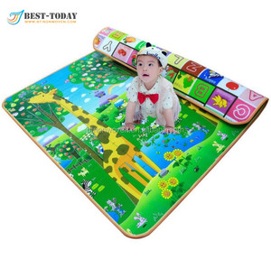 Best-Today Both Sides Baby Toy Play Mat Carpet Child Game Pad Mats for Children