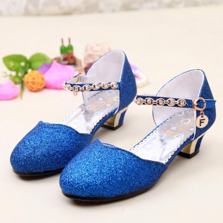 Blue high heels for kids - photo 14 16b483f6ea72