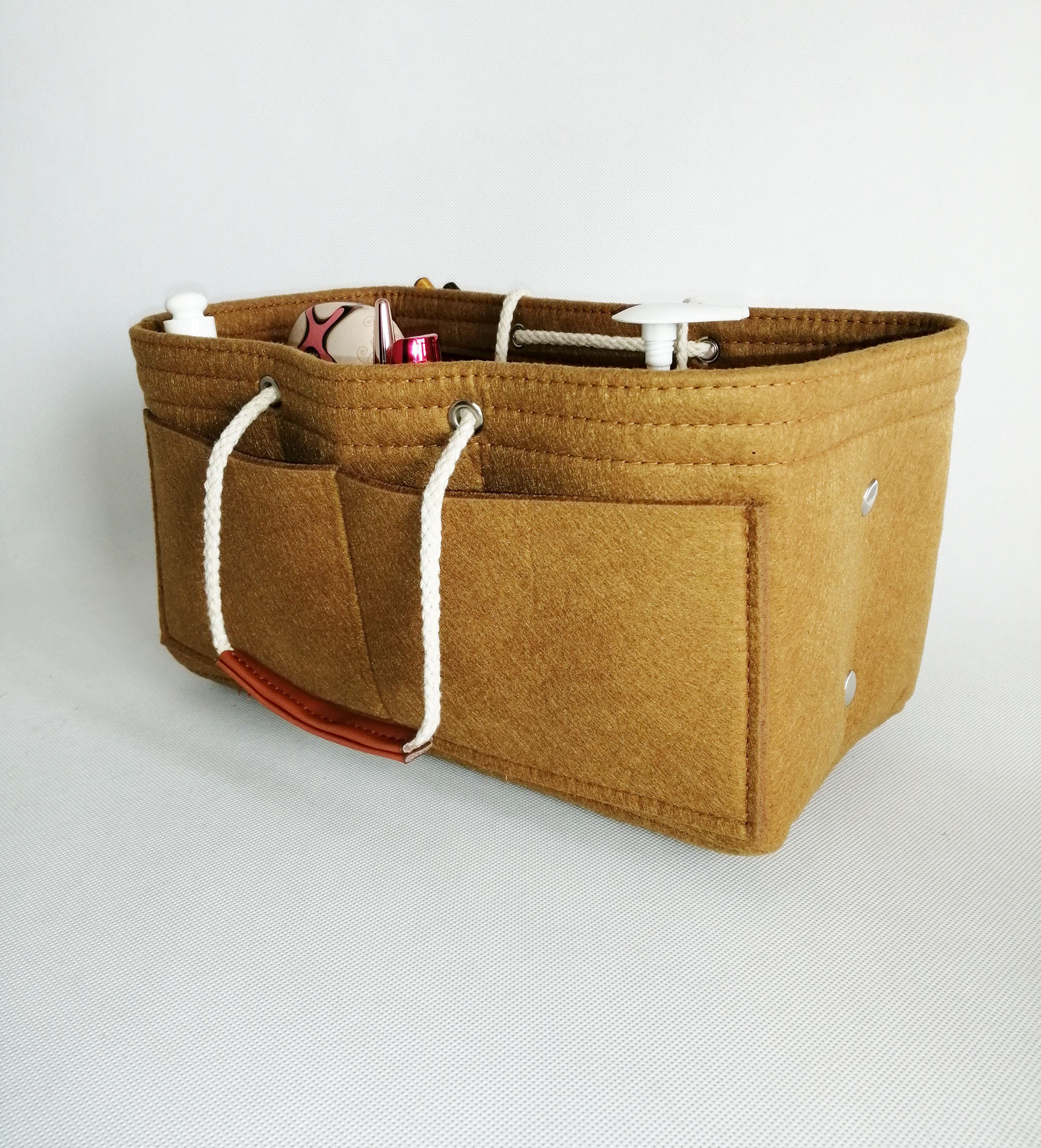Felt Insert Bag Organizer In Ropch Purse Handbag Fits Lv Sdy Neverfull