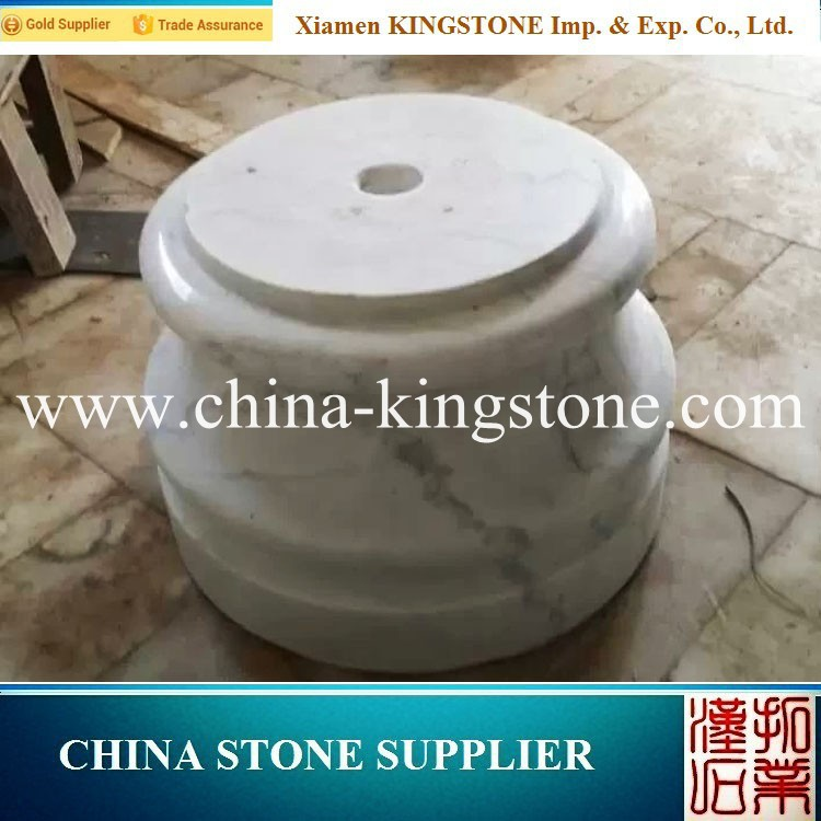 Hot Sell guangxi white marbel tile Designs