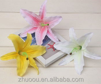 Silk real touch flowers artificial tiger lily flower bulbs modern silk real touch flowers artificial tiger lily flower bulbs modern home weeding decoration mightylinksfo
