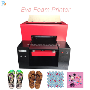 Eva sandal image printing machine/ Eva foam mat printer for printing special patterns