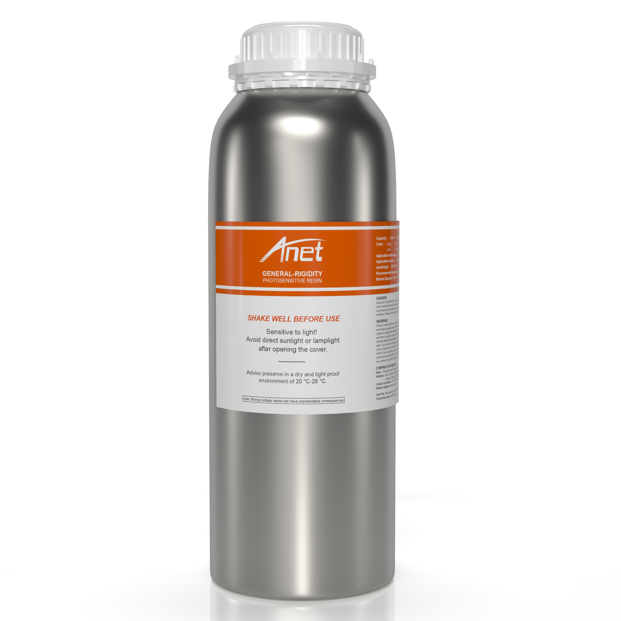 Anet 1 KG LCD 3D printing material UV light 405nm photosensitive <strong>resin</strong> for 3D printer