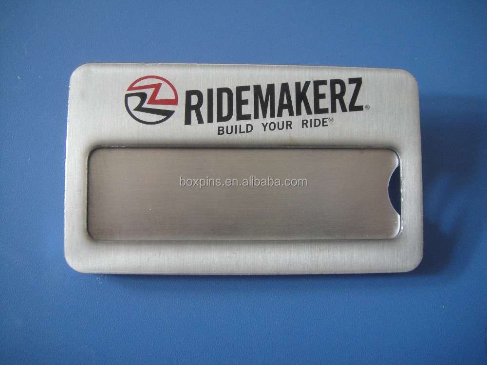 Factory Cheap Price Reusable Identification Plates Printed Nametags