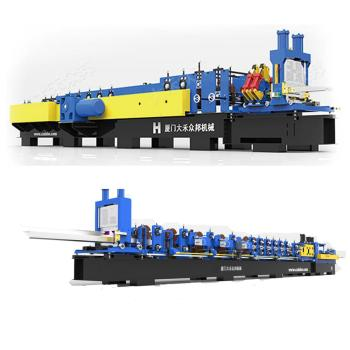 2019 China new design high speed steel profile roll forming machine for building materials