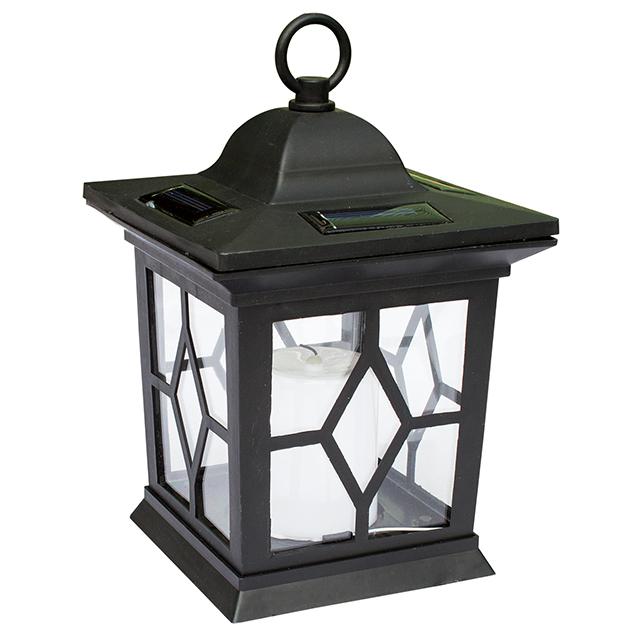 Solar Tea Light Candle Outdoor Flickering