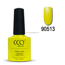 CCO wholesale nail gel polish Soak Off UV/ LED 73 Newest popular colors UV lacquer--90513