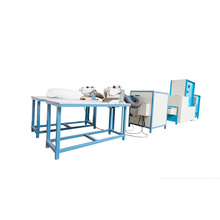 Textiles bedding quantitative fiber carding pillow filling machine