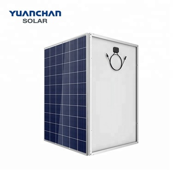 Yuanchan Top One Solar Electric Panel Supplier 260W Poly solar panels for house