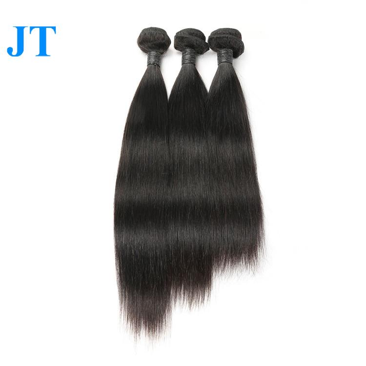 100 Percent Real Virgin Brazilian Human Hair Extension, Natural black 1b;1#;1b;2#;4# and etc