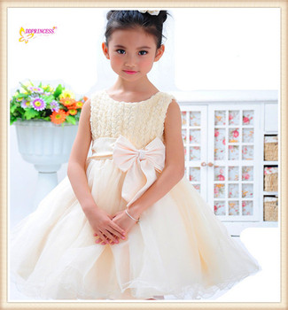 519513f7d2431 new summer fashion rose fancy dress costumes for kids princess wedding  dresses gown mini dresses for