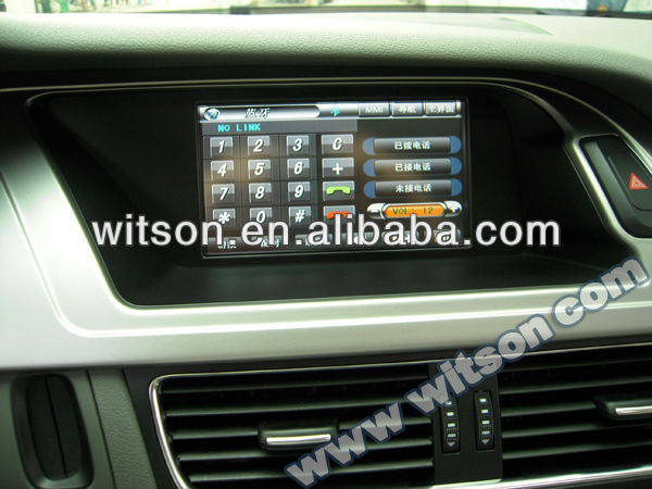WITSON FOR AUDI Q5(2008-2011)Newest China Car DVD Navigation audi q5
