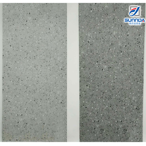 Cheap Terrence Interior Building Material Cement Grey Granule floor Terrazzo Tile Restoration Cost Supplier in foshan