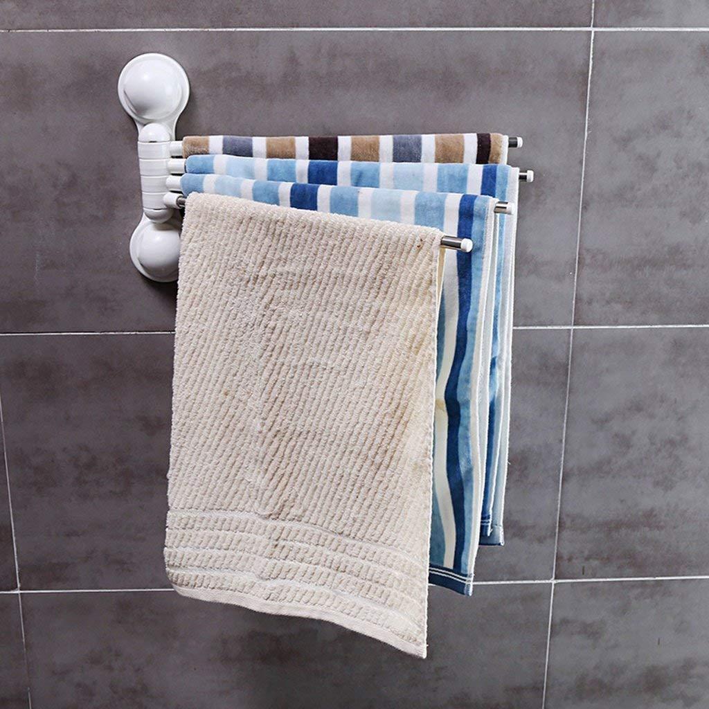 EQEQ Uus Converter Free Hole Teats Bathroom Towel Holder Bath Rooms Kitchen Towel Holder Sucker Towel Rail Towel to Suspend