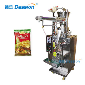 Small Bag Sealing Packing Machine For Nacho Chips With Heat Printing Machine