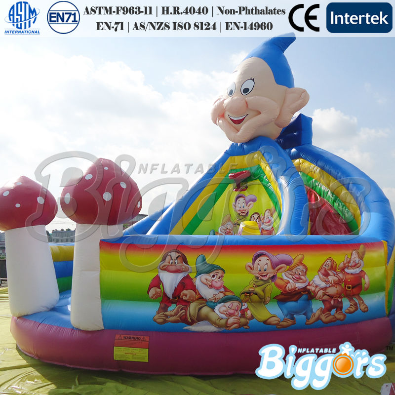 Little Dwarfs Inflatable Indoor Playground Bouncer Combo Slide