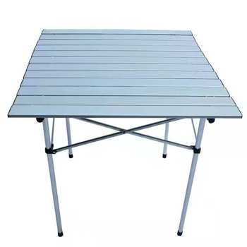 Aluminium Roll Up Camping Table New Outdoors Furniture