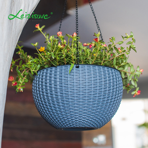 New products taobao hanging plant holder ball shape flower pot wedding planter hanging