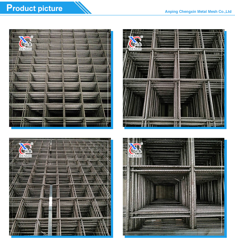 6x6 concrete reinforcement wire mesh for building