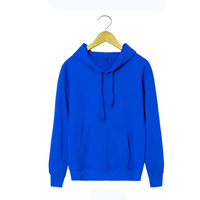 Wholesale Custom Fleece Cotton Plain Dyed Pullover Hoodies With Hood