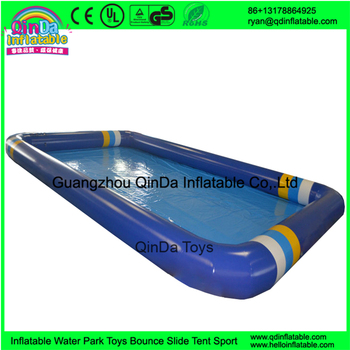 hot sale rectangular large inflatable swimming pool for water ball used inflatable ball pit pools