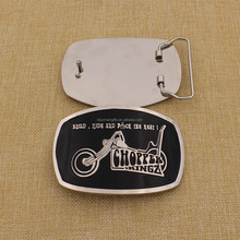 Any logo shape belt buckle custom with cheap price