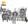 CE standard stainless steel 5000l micro craft beer brewery and brewing equipment with conical beer fermenter for sale