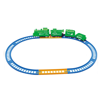 Newest children gift plastic electric toy mini christmas train set