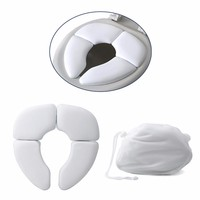 Portable Potty Chair Pad Cushion Folding Child Baby Toilet Seat Soft Training Child Toilet Seat Baby Potty