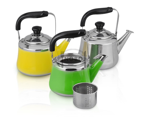 color spraying stainless steel brew water kettle for hotel