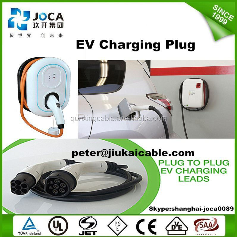 Dostar UL approved sae j1772 standard EV Connector charging plug for electric cars