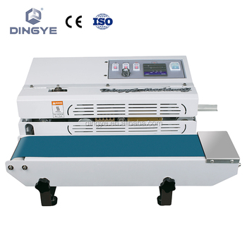 Fr-600a Continuous Band Sealer Machine (bag Sealing Machine) - Buy  Continuous Band Sealer Machine (bag Sealing Machine),Heat Band  Sealer,Plastic Bag