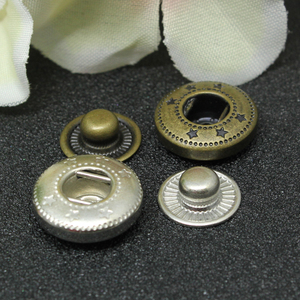 shank buttons,metal shirt push button for clothes