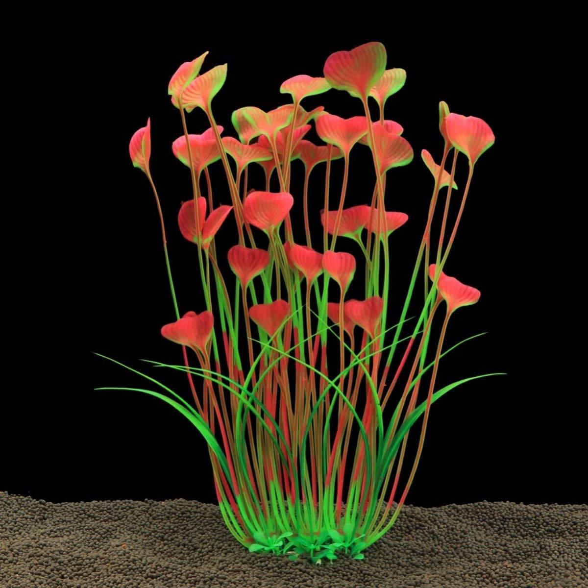 Tacoli Aquarium Plants Artificial-1 Pcs Fish Tank Aquarium Decoration Artificial Simulation Aquatic Plant Grass Random Color