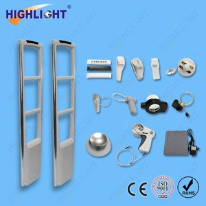 Supermarket anti theft alarming sensor Highlight AM008 EAS security AM gate