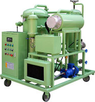 chongqing ZRG Lubricant Dewatering Oil Purifier/lube oil filter/turbine oil purification plant