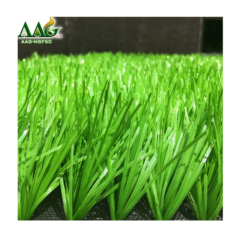 guangzhou outdoor artificial grass decorative artificial wheat grass 50mm turf grass mat, Light green and dark green