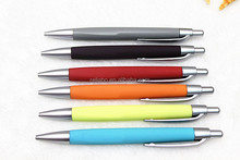 Top selling plastic ball pen with logo for promotion