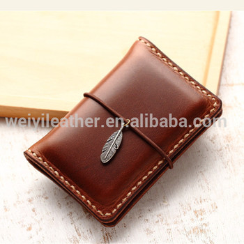 oem personalized leather business card holder credit cards holder - Personalized Credit Cards