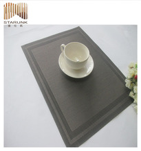 fire-proof commercial vinyl table placemats for kitchens