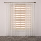 In stock doule layer dual roller shades window zebra blinds online