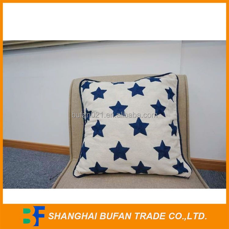 Most popular durable decorative embroidery cushion cover