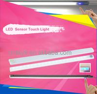 Point touch led light with sensor, display case led light set